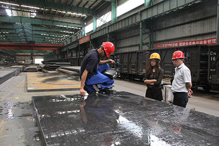 GB3531 low temperature pressure vessel steel plate