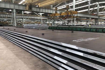 ASTM A202 Grade B (A202GRB) Pressure Vessel And Boiler Steel Plate
