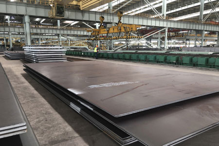DIN 17155 HII steel plate for boiler and pressure vessel